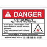 Arc Flash Protection Label - Pack Of 5