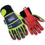 Anti-Vib Gloves Hi-Vis Green XXXXL PR