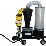 Dust Collection System with Cart, 3 Inch