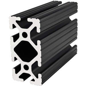 80/20 1530-BLACK-145 Framing Extrusion T-slotted 15 Series | AF8ZTY 29NZ70