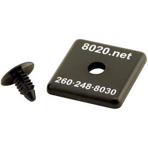 80/20 2030-2 End Caps For 1515 - Pack Of 2   AC3BNL 2RCR9