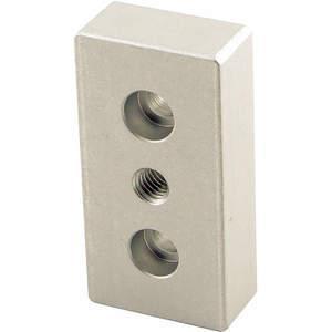 80/20 2130 Base Plate 3/8-16 Tap Center For 15s | AC3BPJ 2RCV3