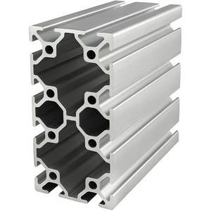 80/20 25-5010-4M Framing Extrusion T-slotted 25 Series   AF8ZUM 29NZ85