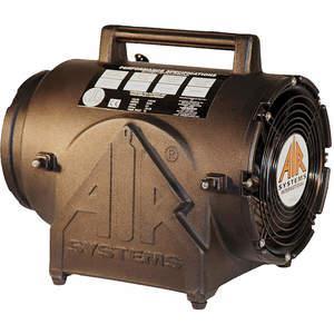 Confined Space Portable Explosion Proof Fan, Axial, Black Plastic, 220 VAC, 8 Inch | AIR SYSTEMS INTERNATIONAL CVF-8X220 | AG9YUC | 23LJ24