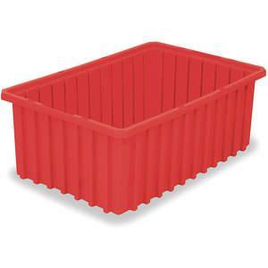 AKRO-MILS 33168RED Divider Box 16-1/2 x 10-7/8 x 8 Inch Red | AC3DYN 2RV42