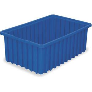 AKRO-MILS 33168BLUE Divider Box 16-1/2 x 10-7/8 x 8 Inch Blue | AC3DYM 2RV41