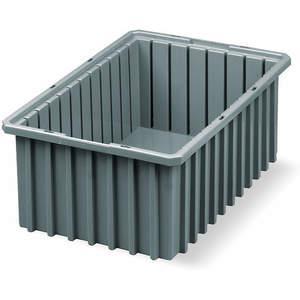 AKRO-MILS 33168GREY Divider Box 16-1/2 x 10-7/8 x 8 Inch Gray | AD9ZNT 4W027