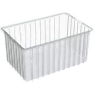 AKRO-MILS 33168SCLAR Divider Box 16-1/2 x 10-7/8 x 8 Inch Clear | AD3NPT 40K431