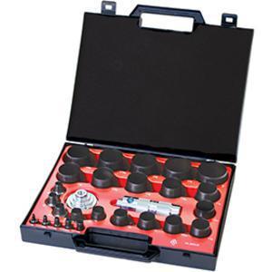 ALLPAX AX1302 Standard Hollow Punch Kit, 27 Piece   AG8XVP