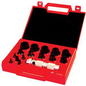 ALLPAX AX1351 Metric Hollow Punch Kit, 16 Piece | AG8XVR
