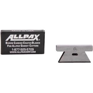 ALLPAX AX1610 Boron Carbide-Coated Cutting Blades, 2 Inch Length x 1.1 Inch Width | AG8XTW