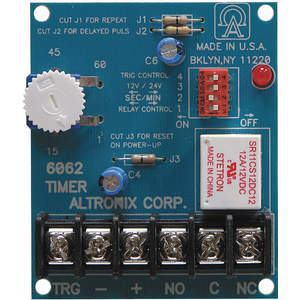 ALTRONIX 6062 Timer Multifunction 12/24vdc | AD9KHB 4TEE5