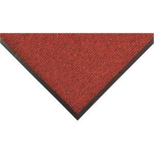 APACHE MILLS 0105021923x5 Carpeted Entrance Mat Red/black 3 x 5 Feet   AC8FXU 39R820