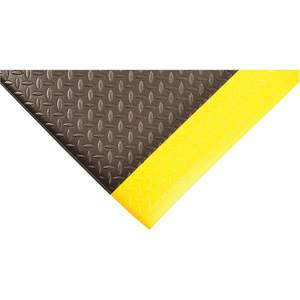 APACHE MILLS 2057009032x8 Anti-fatigue Runner 2 x 8 Feet Black With Yellow | AC8FWX 39R798