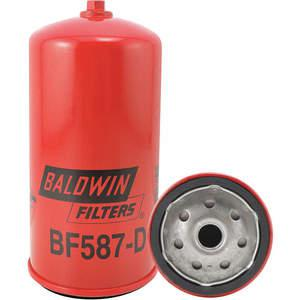 BALDWIN FILTERS BF587-D Fuel Filter Spin-on/secondary   AC2KZP 2KYB6