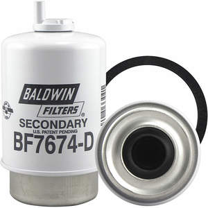 BALDWIN FILTERS BF7674-D Fuel Filter Element/secondary/separator | AC2KWW 2KXU8
