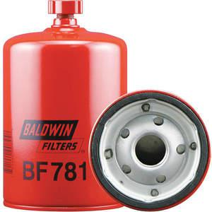 BALDWIN FILTERS BF781 Fuel Filter Spin-on 6 1/8 Inch Length | AC2WYZ 2NTY3