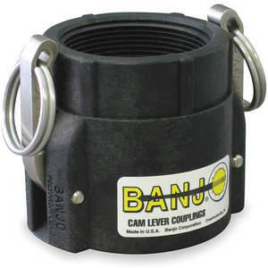 BANJO 050D Coupler 3/4 x 1/2 Inch 125 Psi Polypropylene | AA9KMF 1DPH7
