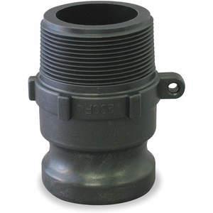 BANJO 125F Adapter 1 x 1-1/4in 125 Psi Polypropylene | AA9KNE 1DPL2