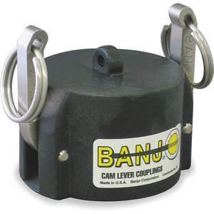 BANJO 075CAP Dust Cap 3/4 Inch 125 Psi Female Coupler | AA9KMK 1DPJ2