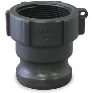 BANJO 400A Adapter 4 Inch 75 Psi Male Adapter x Fnpt | AB2KCF 1MJU1