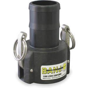 BANJO 100C Coupler 1 Inch 125 Psi Polypropylene | AA9KMU 1DPK1