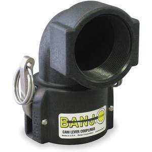 BANJO 150D90 Coupler 1-1/2 Inch 125 Psi Polypropylene | AA9KNL 1DPL8