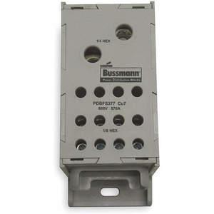 BUSSMANN PDBFS377 Dist Block Pdbfs 570a 4.67 x 2.93 x 1.88 | 1DC51