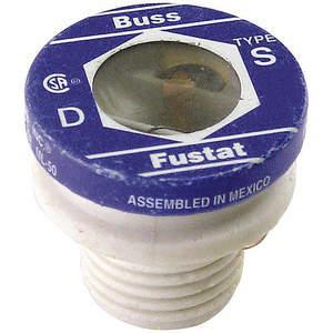 BUSSMANN S-3-1/2 Fuse 3-1/2a S 125vac Screw-in Pack Of 4 | 1AEW1