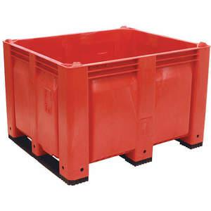 DECADE PRODUCTS M40SRD3 Bulk Container Red 36-3/4 Inch Width | AH9DXN 39UV23