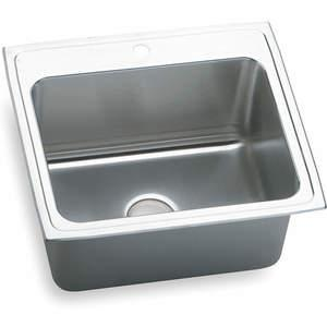 ELKAY DLR2522123 Drop-in Sink With Faucet Ledge 25 Inch Length | AC8HPJ 3AEG6