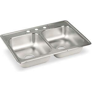ELKAY DLR3322103 Drop-in Sink With Faucet Ledge 33 Inch Length | AC8HPP 3AEH2
