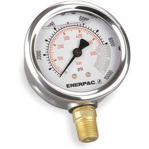 ENERPAC G4039L Pressure Gauge 0 To 10000 Psi 4 Inch 1/2in   AE7NAX 5ZL41