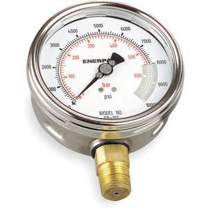 ENERPAC GP-10S Pressure Gauge 0 To 10000 Psi 4 Inch 1/2in | AC9UKL 3KD63