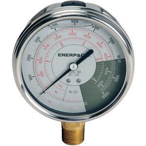 ENERPAC GF20P Pressure Gauge 0 To 10000 Psi 4 Inch 1/2in | AD6MRR 46C574