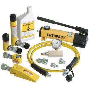 ENERPAC MLP25 Hydraulic Lifting Set 25 Ton Capacity 13 Pc | AC3DXY 2RV24
