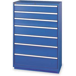 LISTA HS1350-0702FA-WWG Modular Drawer Cabinet 59-1/2 Inch Height | AC8GUN 3AA46