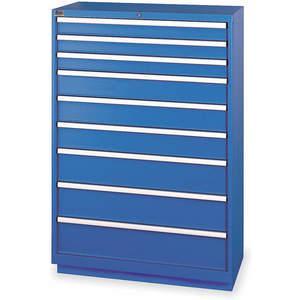 LISTA HS1350-0902FA-WWG Modular Drawer Cabinet 59-1/2 Inch Height   AC8GUM 3AA45