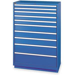 LISTA HS1350-1002FA-WWG Modular Drawer Cabinet 59-1/2 Inch Height | AC8GUP 3AA47