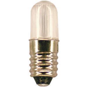 LUMAPRO 39P457 Led Lamp Mini T3 1/4 E10 Red | AC8FFQ