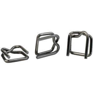 PAC STRAPPING PRODUCTS B-5(250) Strapping Buckle 5/8 Inch - Pack Of 250 | AA7UBX 16P027