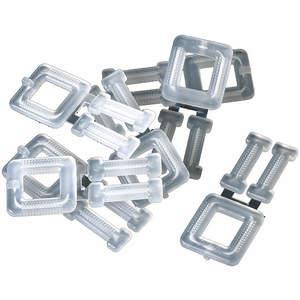PAC STRAPPING PRODUCTS PLB-15(250) Strapping Buckle 1/2 To 5/8 Inch - Pack Of 250 | AA7UBZ 16P029