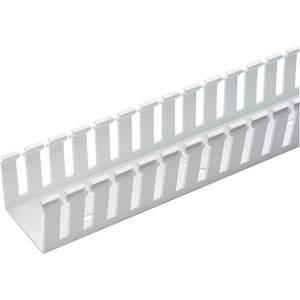 PANDUIT G2X3WH6 Wire Duct Wide Slot White 2.25 W x 3 D | AC8HVL 3AFY5