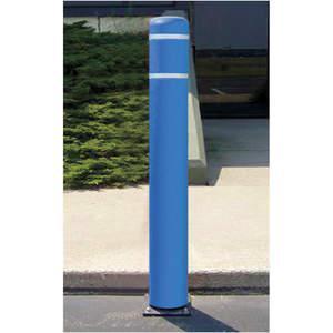 POST GUARD 111AMB Flexible Bollard Asphalt H 52 Inch Blue | AE9VCY 6MPV1