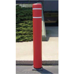 POST GUARD 111CMR Flexible Bollard Concrete H52 Red Cover | AE9VDG 6MPV9