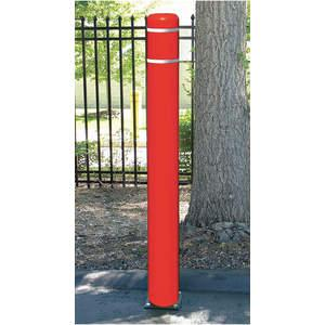 POST GUARD 122CMR Flexible Bollard Concrete H72 Red Cover | AE9VDK 6MPW2