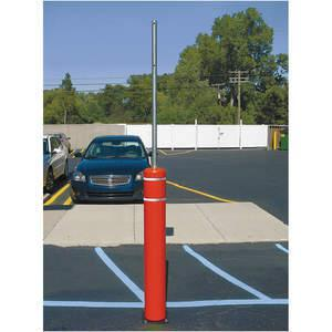 POST GUARD 133CMR Flexible Bollard Concrete Red With Post | AE9VDN 6MPW5