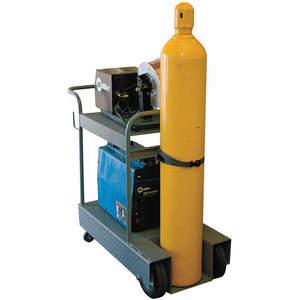 SAFTCART IV-1 Inverter Cart Holds 1 Cylinder Steel   AE7CJP 5WXN5
