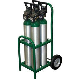 SAFTCART MDE-4 Cylinder Trolley 250 Lb. 35 Inch Height | AE7CGQ 5WXG9