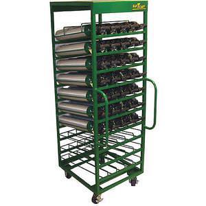 SAFTCART MDE-50H Cylinder Trolley 78 Inch H 2400 Lb. | AE7CGW 5WXH4